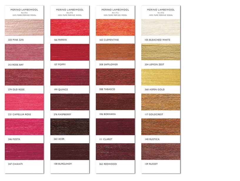 MERINO shade card 4