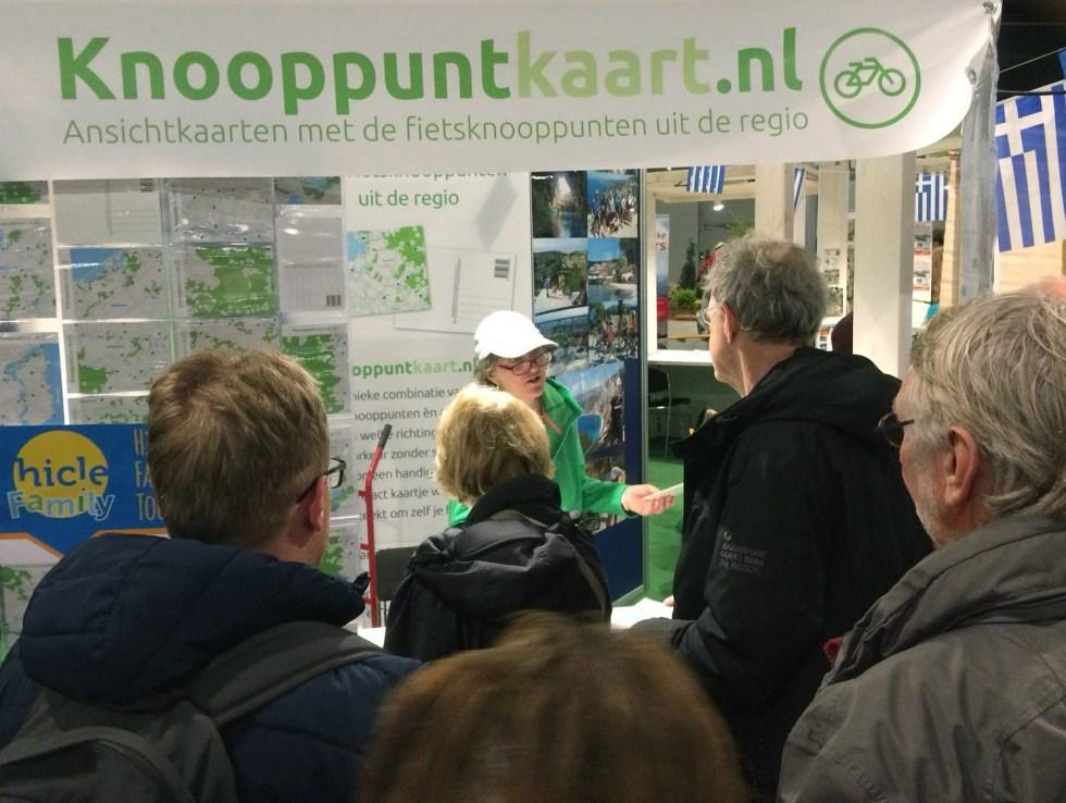 Knooppuntkaart.nl op de Fiets en Wandelbeurs 2019