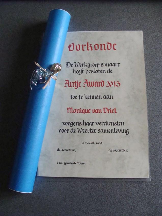 Antje Award 2013