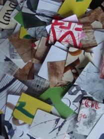 Stukjes papier - Pieces of paper