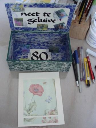 Kaart & Doosje - Card & Box