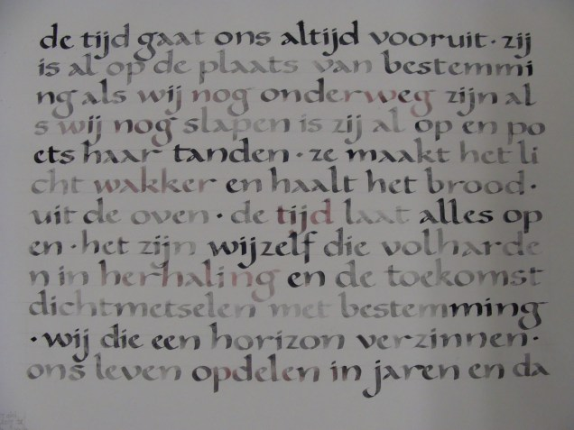 Oefenvel - Practice page