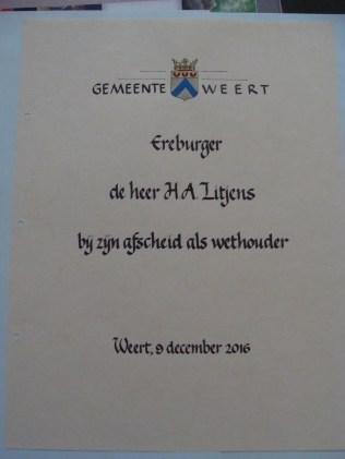 Tekstblad Gastenboek - Page Guestbook