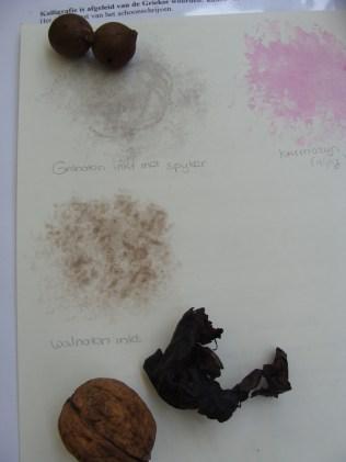 Natuurlijke inkten - Natural ink