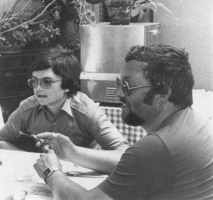 Mein Vater und ich (ca. 1978)