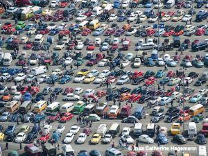 Luftbild vom Maikäfertreffen 2012