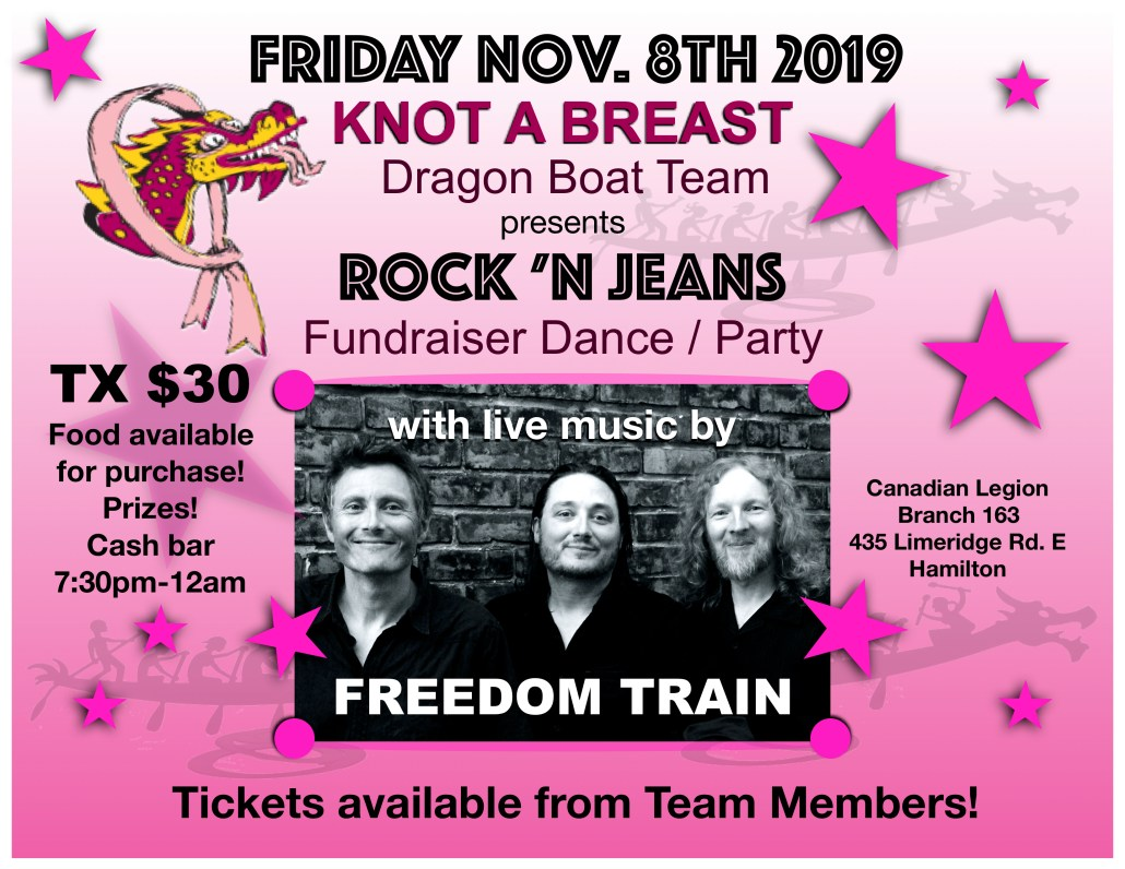 Knot A Breast Fundraiser with Freedom Train