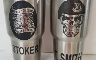 Custom Wyld Gear Cups