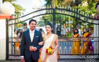Albert and Rebecca : Christian wedding in Navi Mumbai