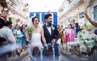 Ishita & Snehasish : White Wedding in Delhi