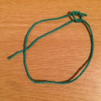 adjustable knot, tutorial, DIY