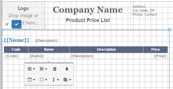 price-list-layout-table-edit