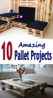 10 Amazing Pallet Projects