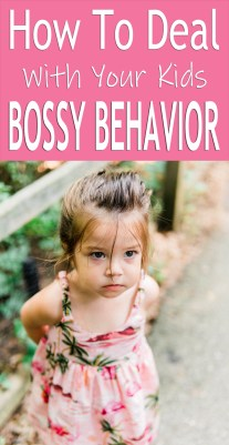 How To Deal With Your Kids Bossy Behavior
