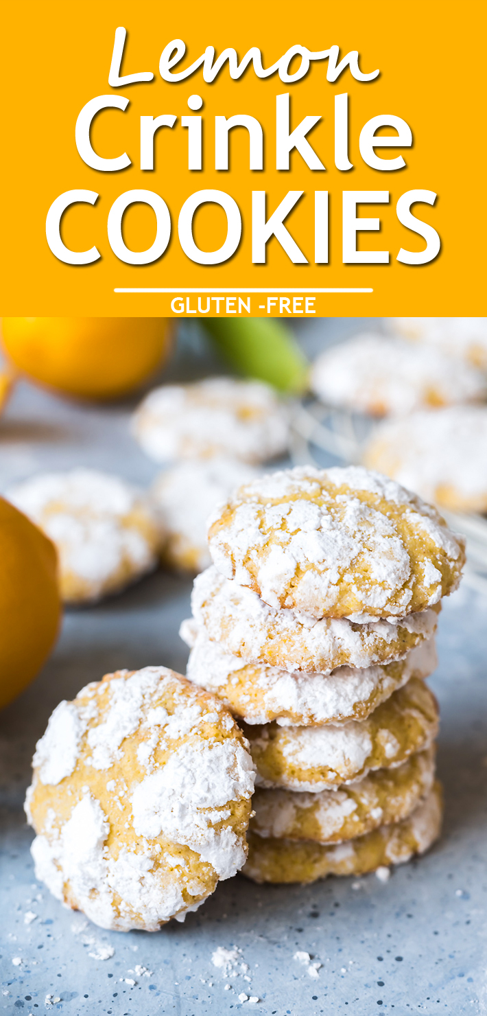 Lemon Crinkle Cookies - Know 2 How