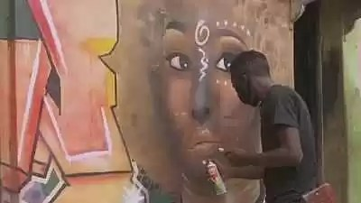 Nigerian Artist Uses Graffiti To Inspire Youth Know Afrika