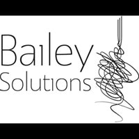 Bailey Solutions black and white logo