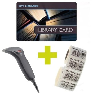 Library barcode products