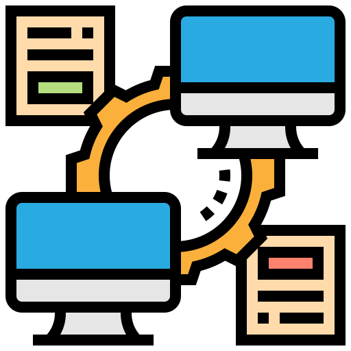 library management system- data conversion logo