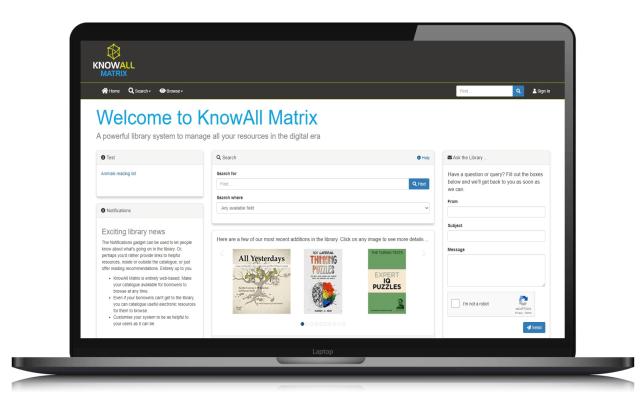 knowall matix-Interface