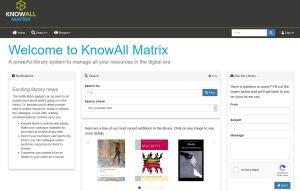 KnowAll Matrix homepage