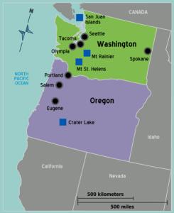 pacific northwest region wikitravel