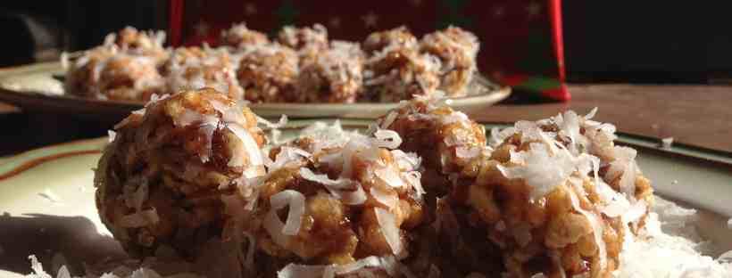 Gluten Free Date Balls