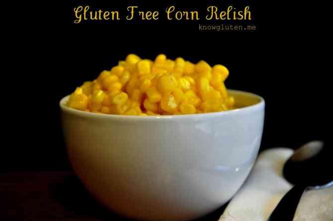 Gluten Free Corn Relish