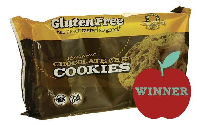 Gluten Free school lunch challenge - chocolate chip cookie winner- knowgluten.me