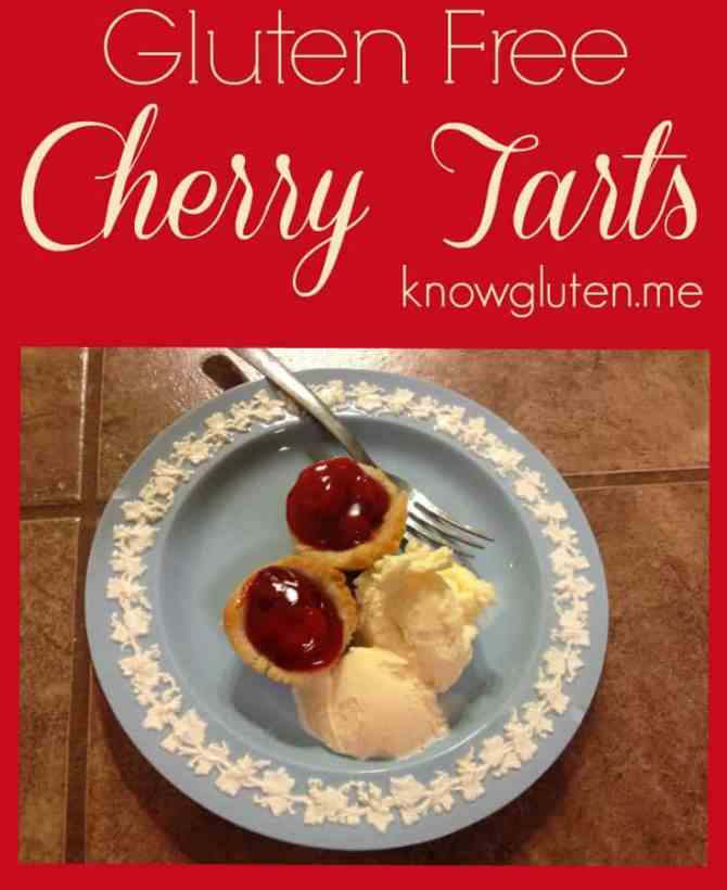 Gluten Free Cherry Tarts and Pillsbury Gluten Free Pie and Pastry Dough Review from Knowgluten.me