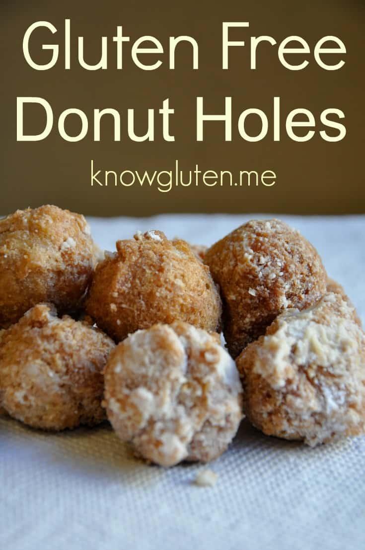 Gluten Free Donut Holes from knowgluten.me