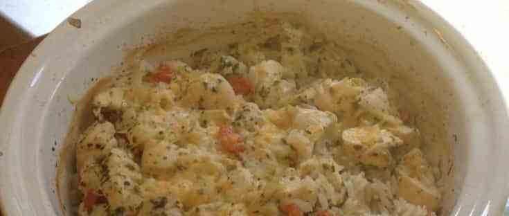 Gluten Free Easy Chicken Rice Bake from knowgluten.me . Perfect for busy families!!