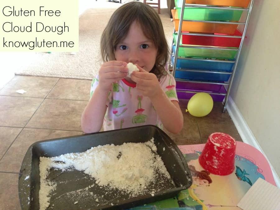 find gluten free cloud dough recipes on knowgluten.me