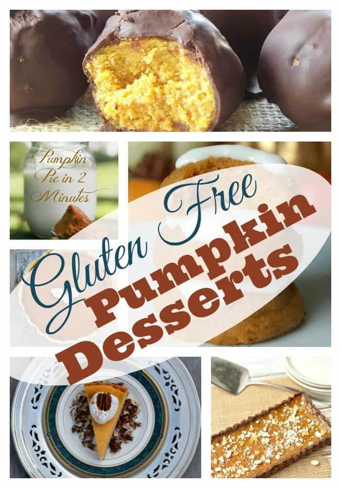 Gluten Free Pumpkin Desserts for Thanksgiving - Pinterest Roundup