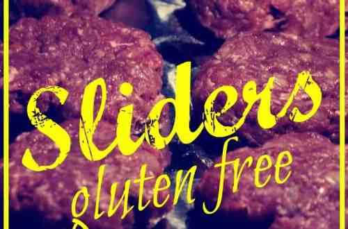 Easy gluten free sliders (meatballs) from knowgluten.me