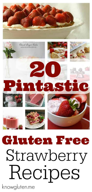 20 Gluten Free Strawberry Desserts