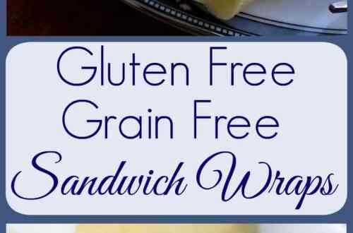 Gluten Free, Grain Free Sandwich Wraps - Easy Recipe from knowgluten.me