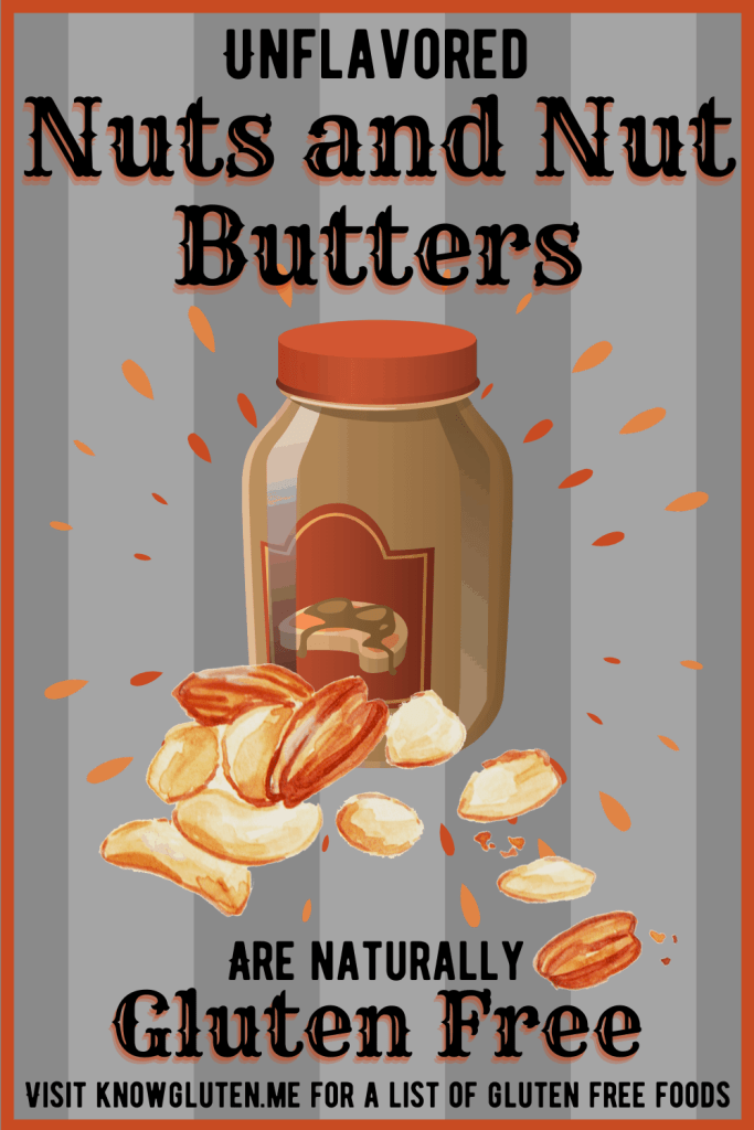 a jar of peanut butter and some nuts