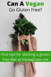 a woman hiding her face with a bunch of kale.