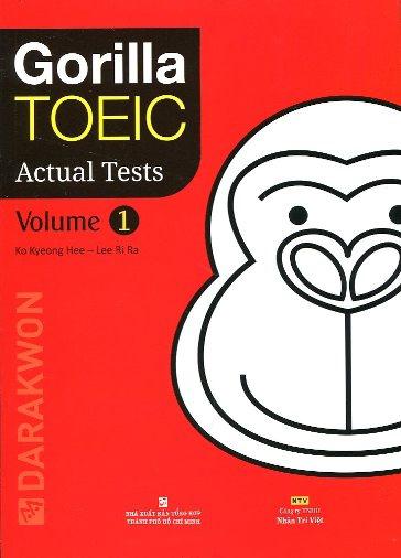 Gorilla TOEIC Actual test volume 1