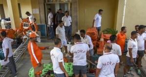 NDRF Team for Cyclone Fani, Odisha