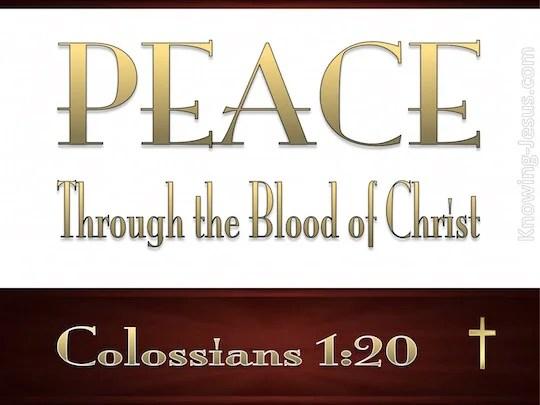 Blood Atonement Jesus