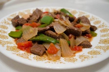 Pepper Steak - yummy!