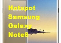 Hotspot Samsung Galaxy Note8