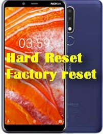 Factory Data Reset Nokia 3.1 Plus knowlagebase.com
