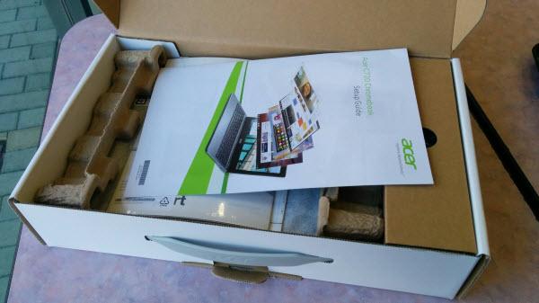 Acer C720 Chromebook セットアップ5