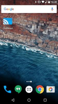 Chromecastアプリ セットアップイメージ1