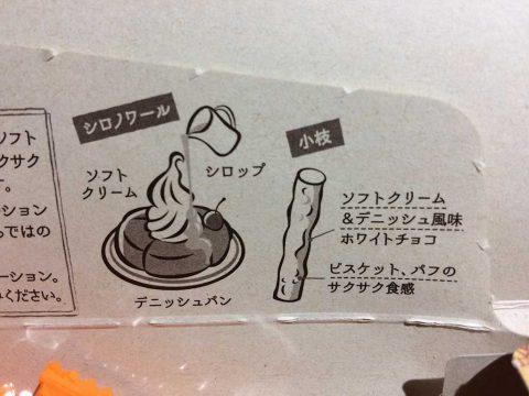 小枝コメダ珈琲店監修シロノワール味説明イメージ