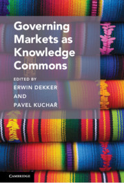 Governing Markets in Knowledge Commons - cover