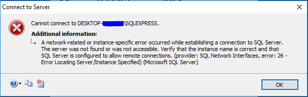 ConnectToServer_Error